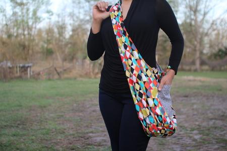 Sew Over Shoulder Bag 119